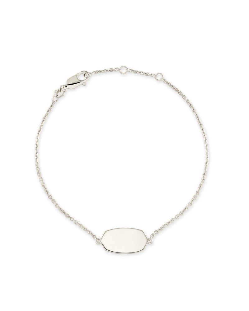 Elaina Delicate Chain Bracelet in Sterling Silver