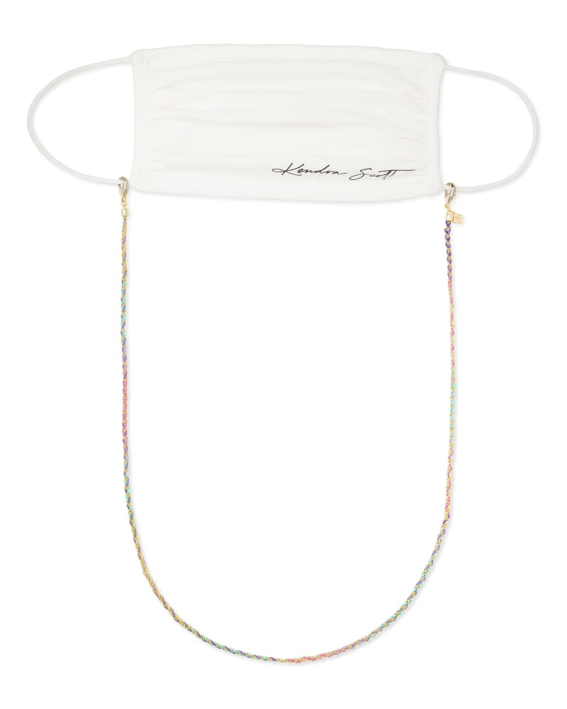 Charlie Corded Mask Chain in Cool Mix