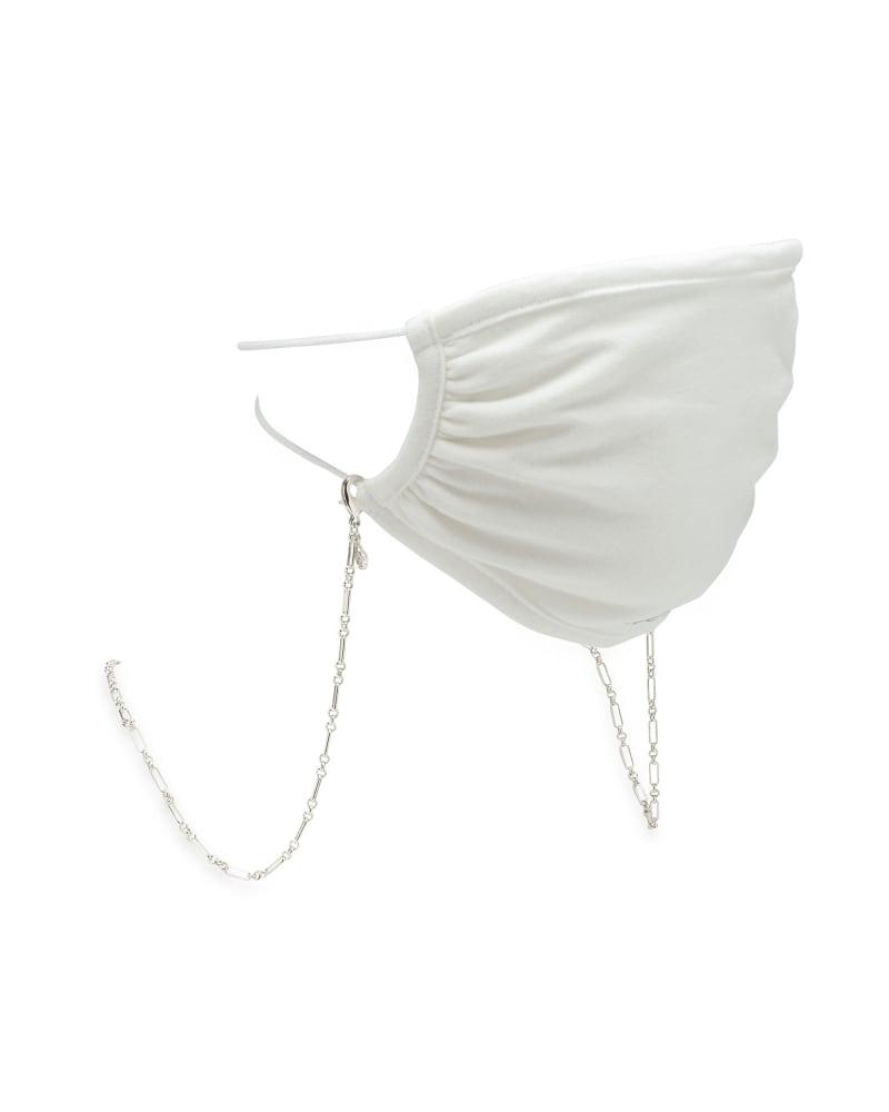 Erin Mask Chain in Silver