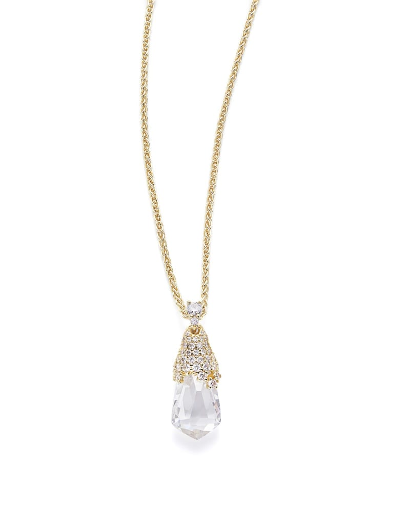 Colby Pendant Necklace in Gold