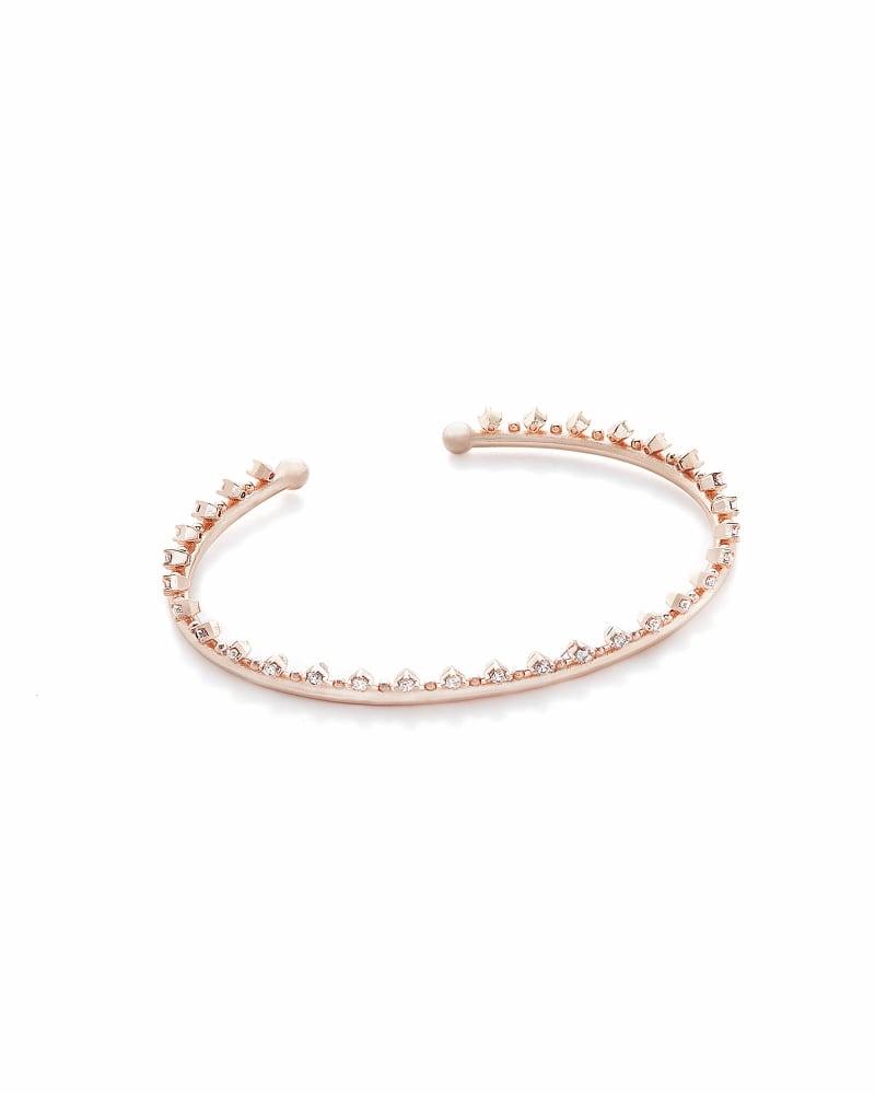 Codi Pinch Bracelet in Rose Gold