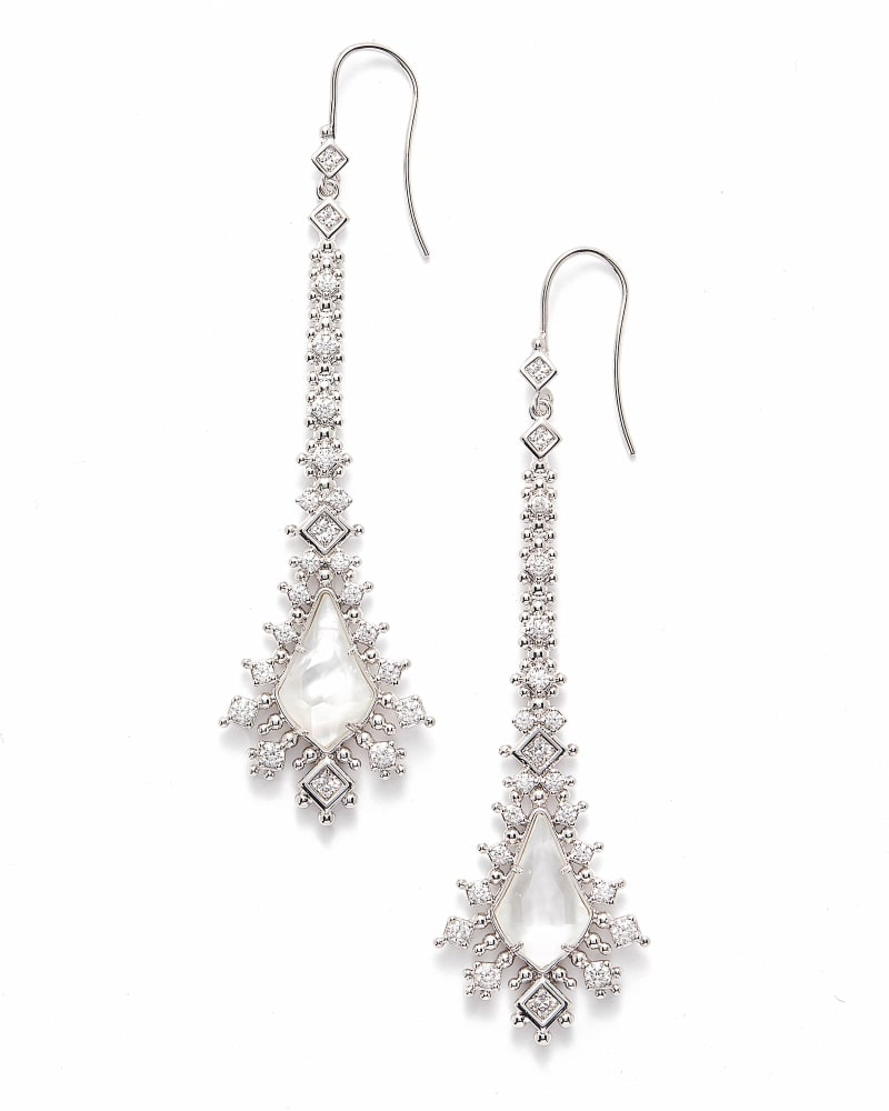 Reimer Statement Earrings in Silver