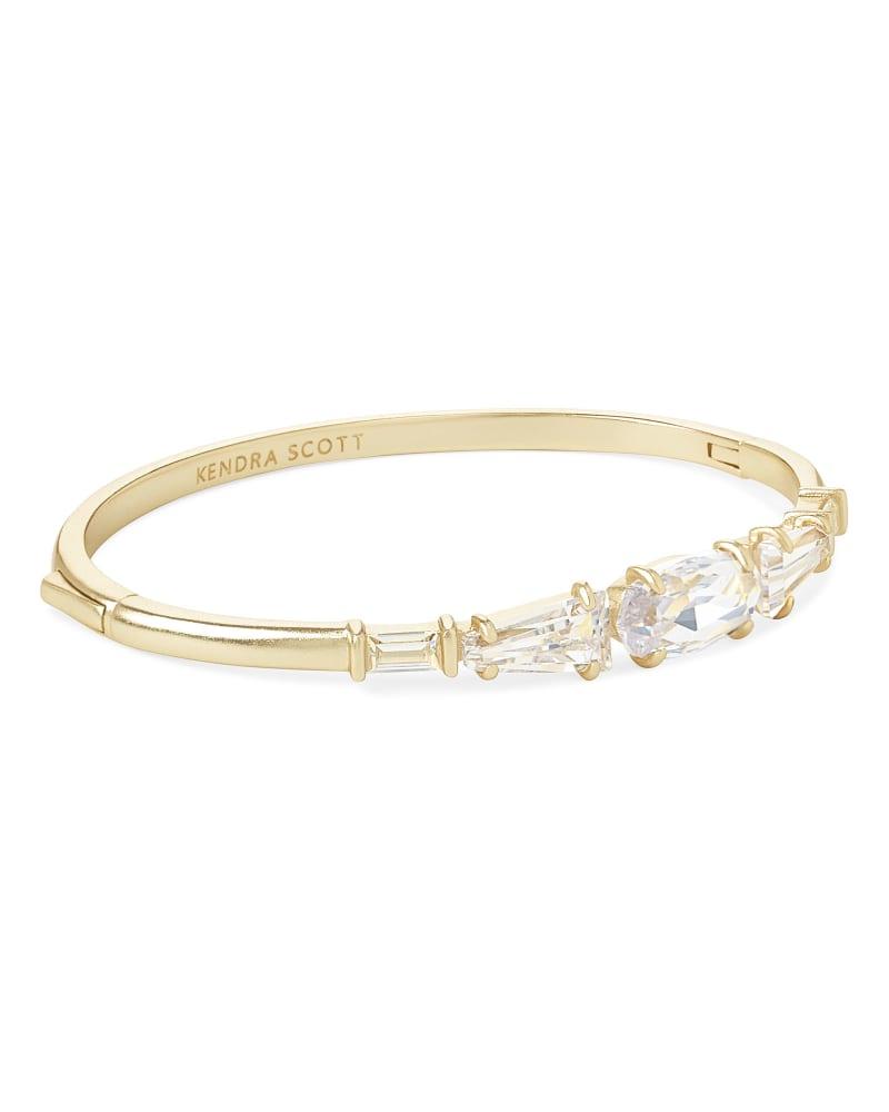 Ren Cuff Bracelet in Lustre Glass