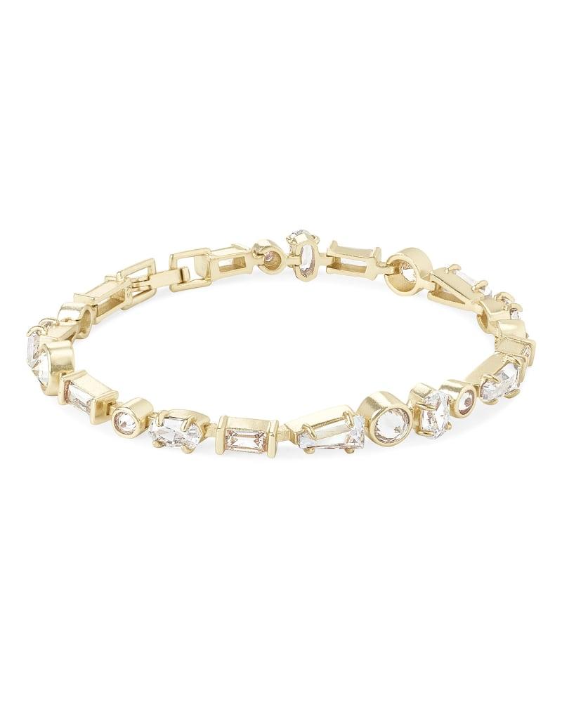 Rumi Link Bracelet in Lustre Glass