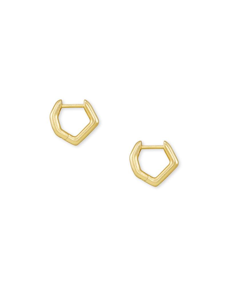 Irregular Huggie Earrings in Gold | Kendra Scott