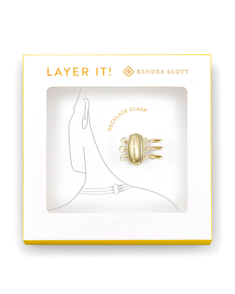 Layer It! Necklace Clasp in Gold   Kendra Scott