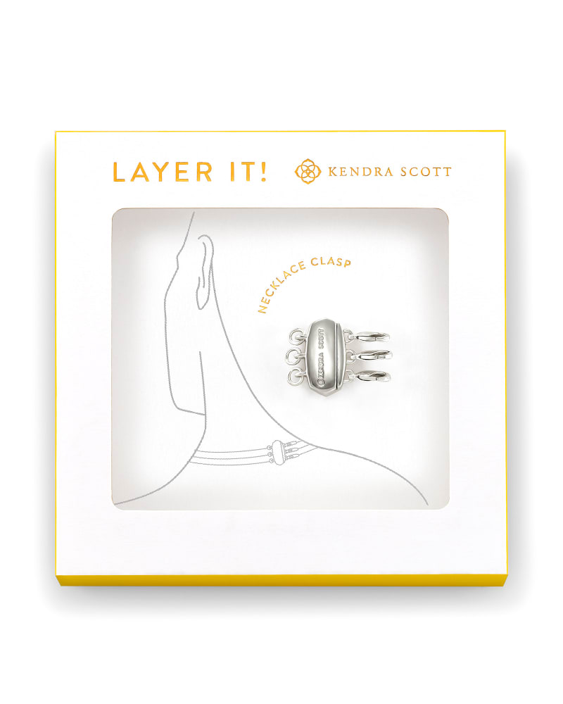 Layer It! Necklace Clasp in Silver