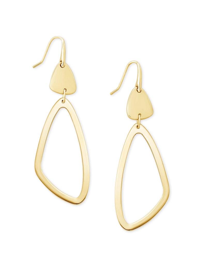 Kira Drop Earrings in Gold