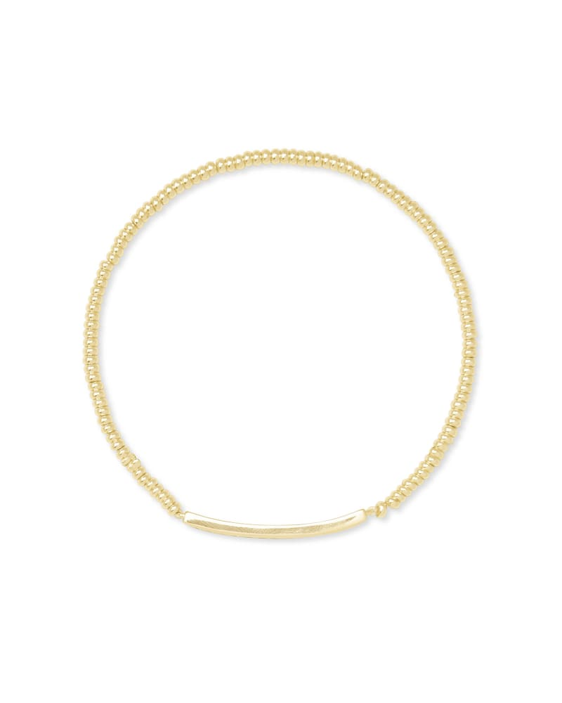 Addison Stretch Bracelet in Gold