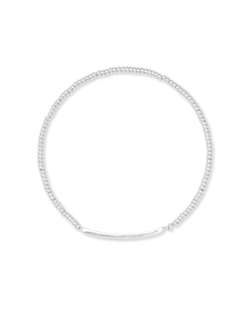 Addison Stretch Bracelet in Silver