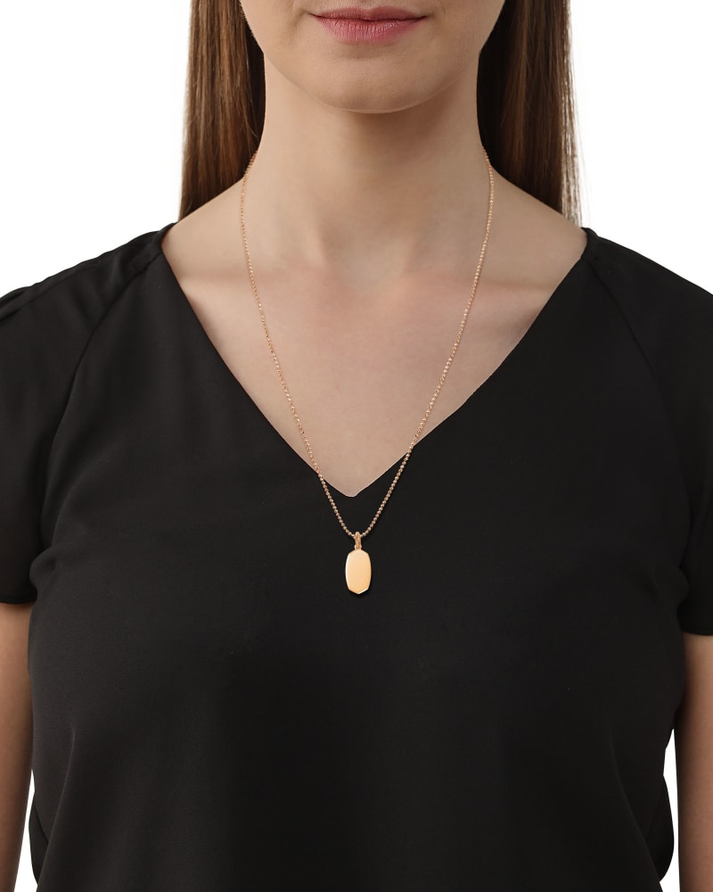 Elisa Charm in 18k Rose Gold Vermeil