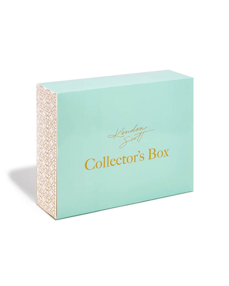 Stone Collector's Box in Gold & Rock Crystal