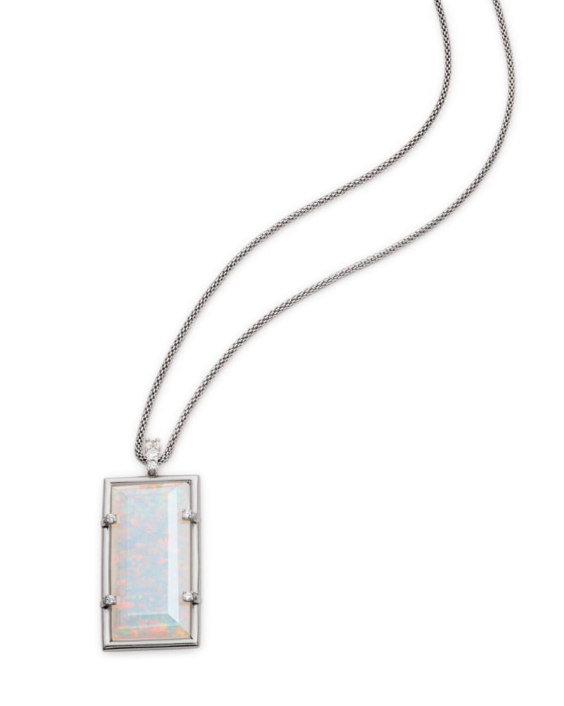 Edith Long Pendant Necklace