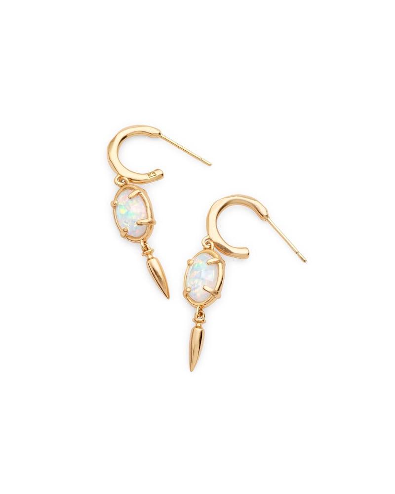 Trixie Drop Earrings in Gold