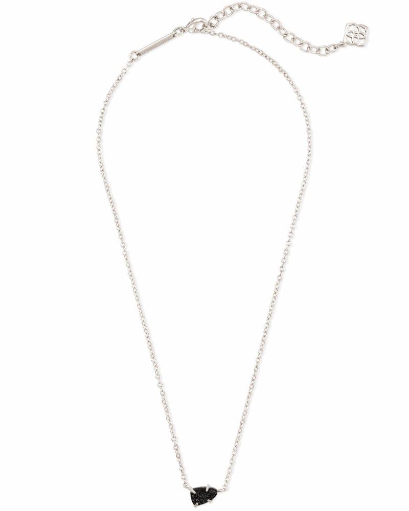 Helga Pendant Necklace in Silver