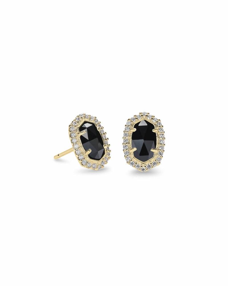 Cade Stud Earrings in Gold