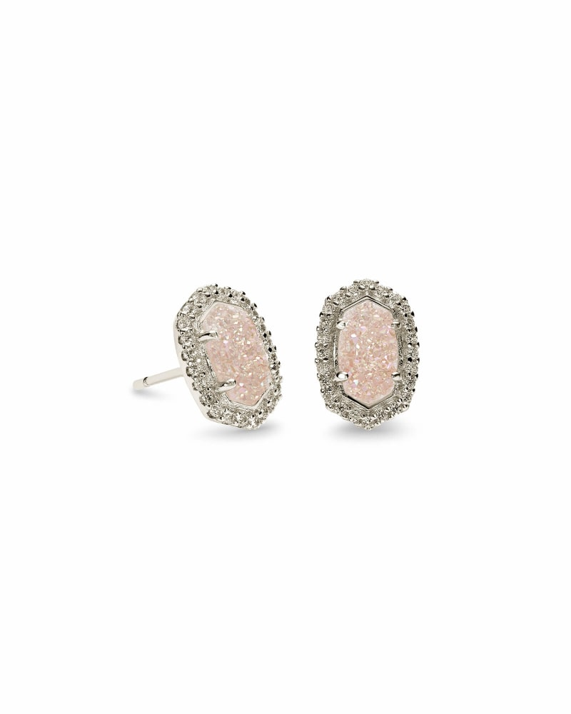 Cade Stud Earrings in Silver