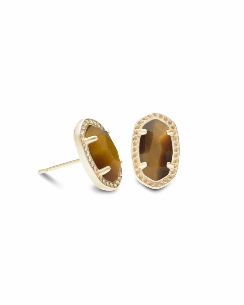 Emery Stud Earrings in Gold