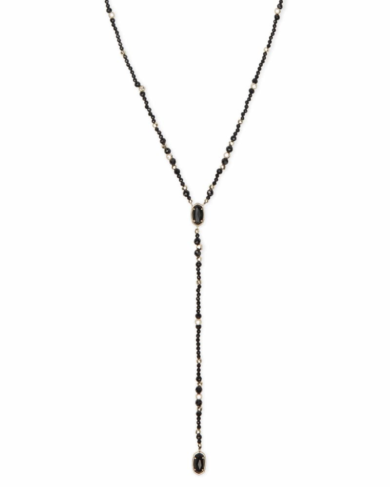 Bethany Gold Y Necklace