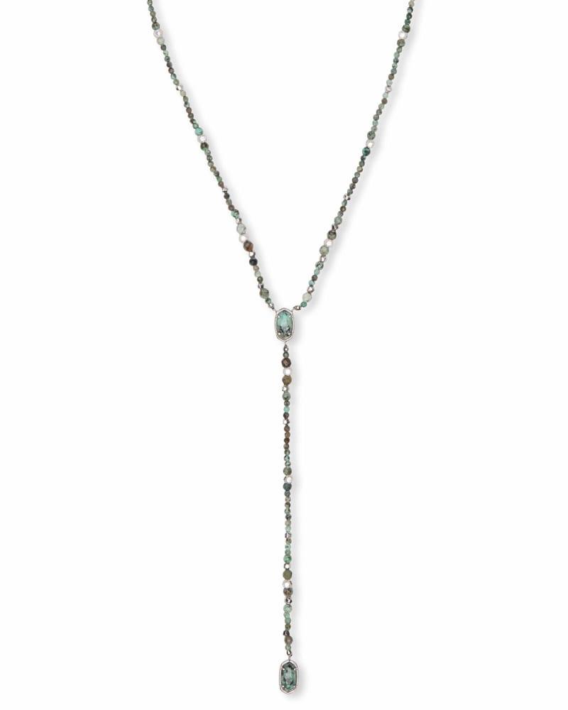 Bethany Silver Y Necklace