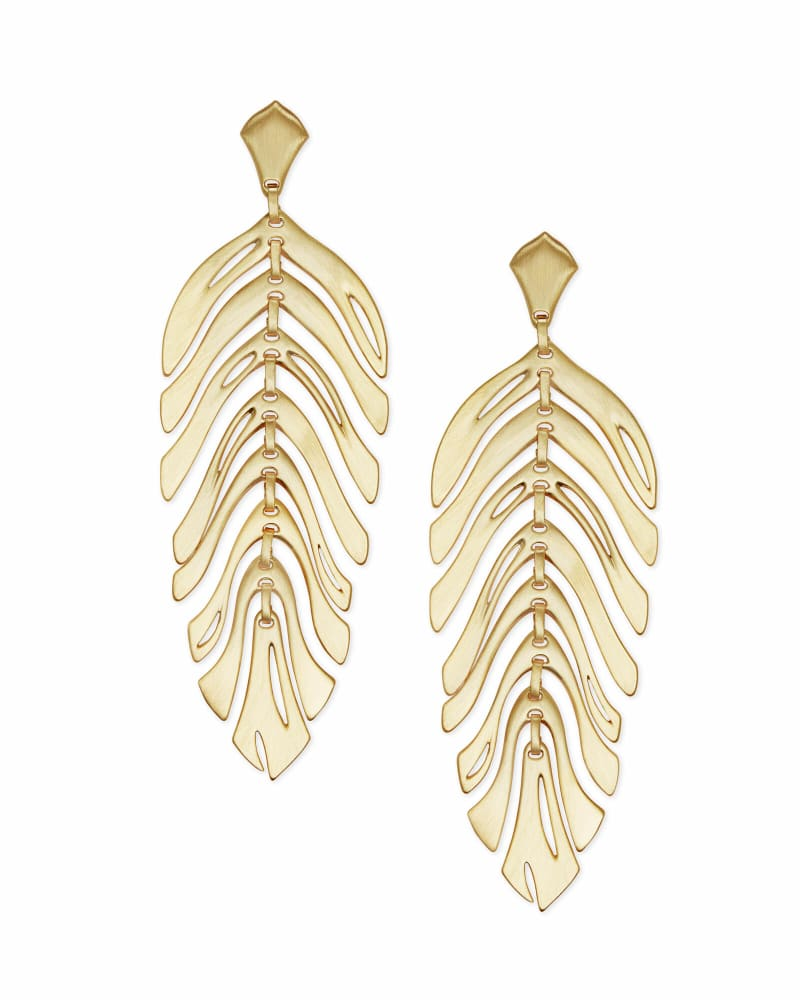 Lotus Statement Earrings