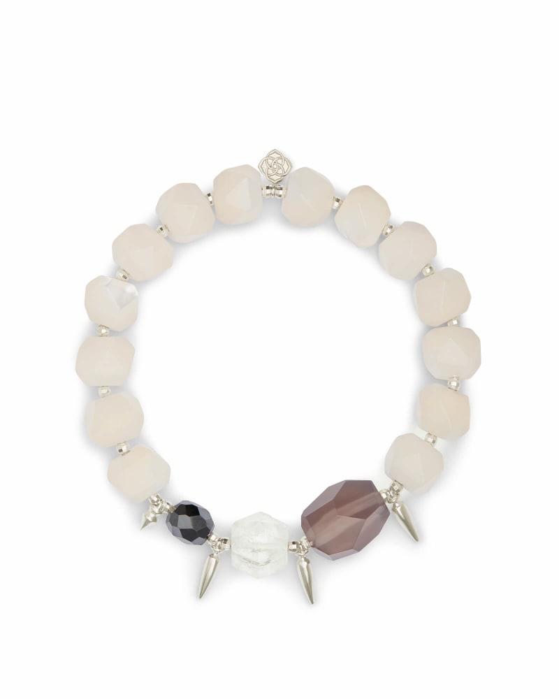 Sadie Silver Stretch Bracelet