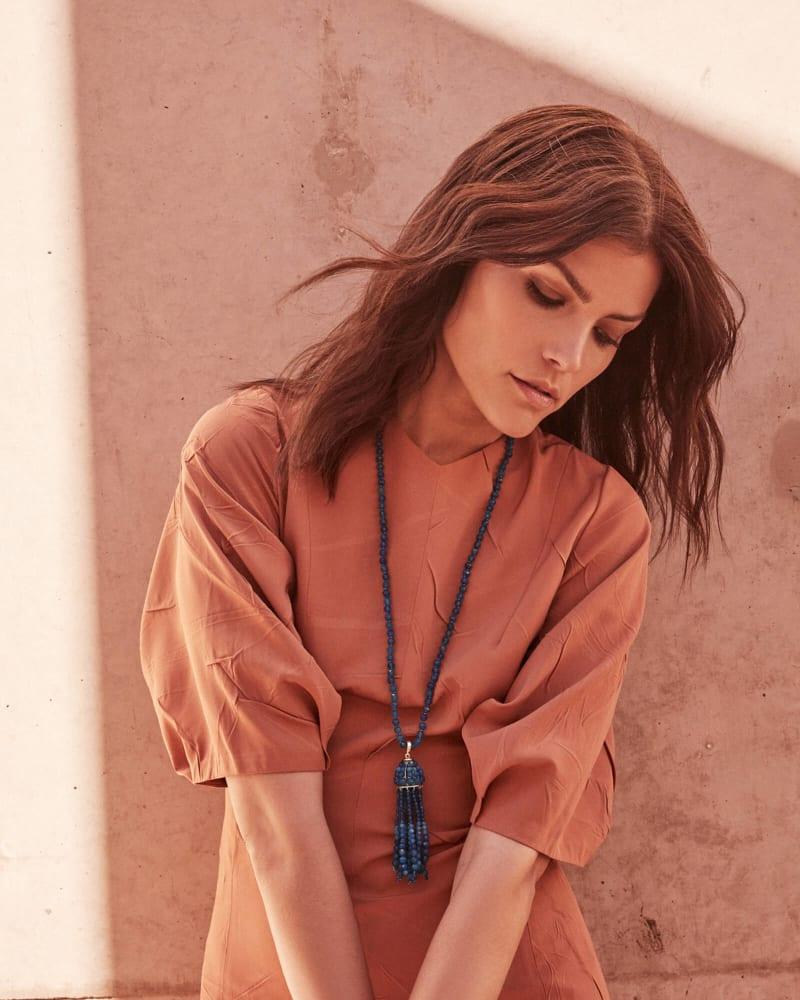 Sylvia Long Pendant Necklace