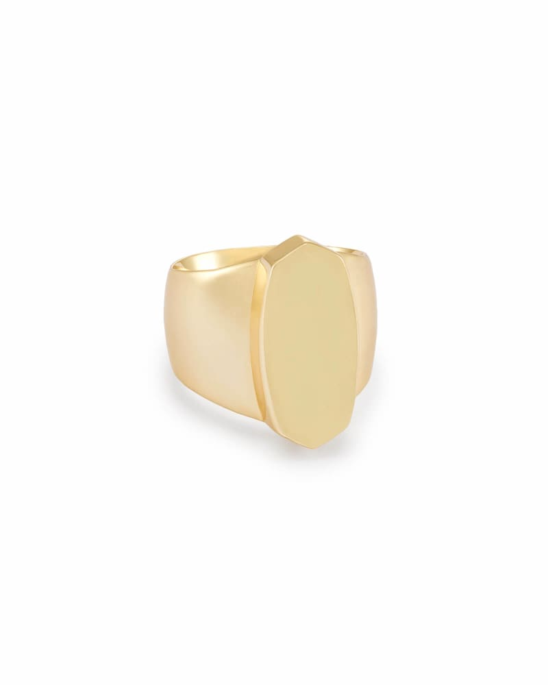 Reagan Cocktail Ring in Gold