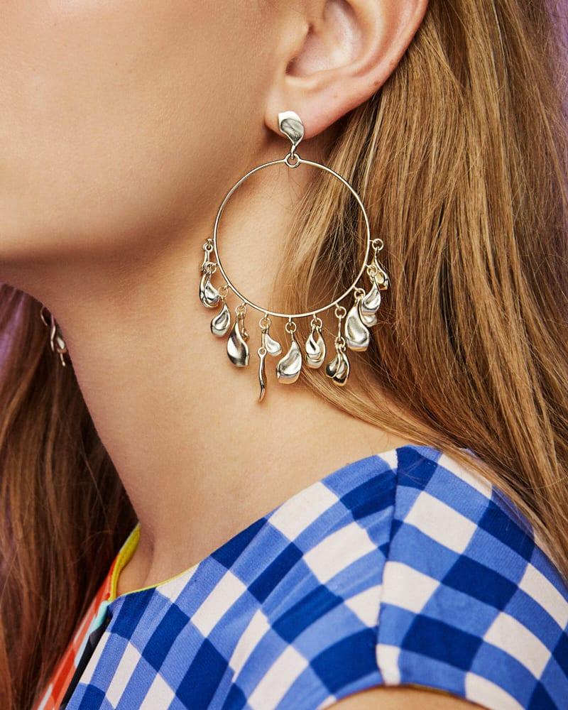 Natasha Hoop Earrings