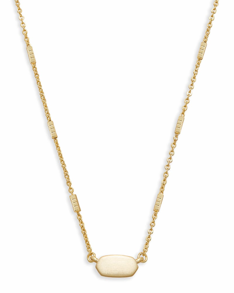 Fern Pendant Necklace in Gold; holiday gift guide for her