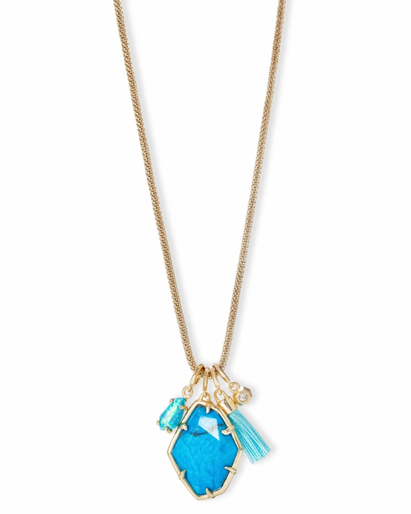 Hailey Long Pendant Necklace