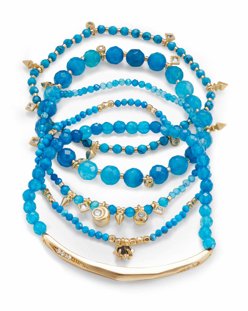 Seed Beads Bracelets Small Dainy Bracelets Southern  Arkansas University Bracelets,Set of 3 Bracelets SAU Stack Seed Beads Bracelet