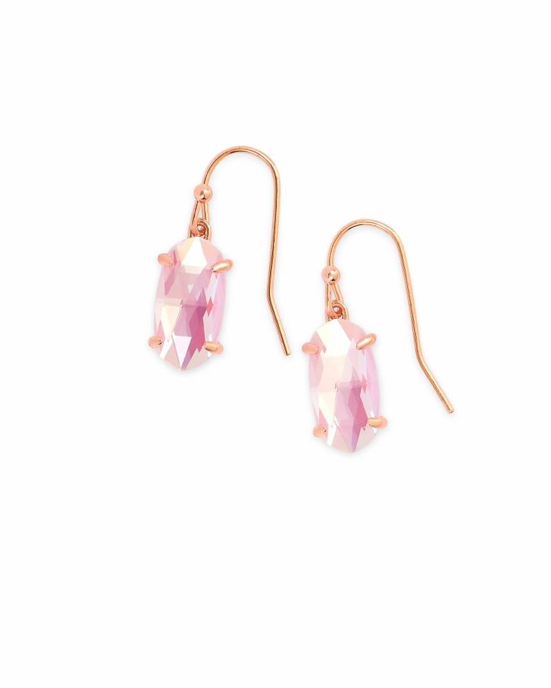 Lemmi Drop Earrings in Rose Gold