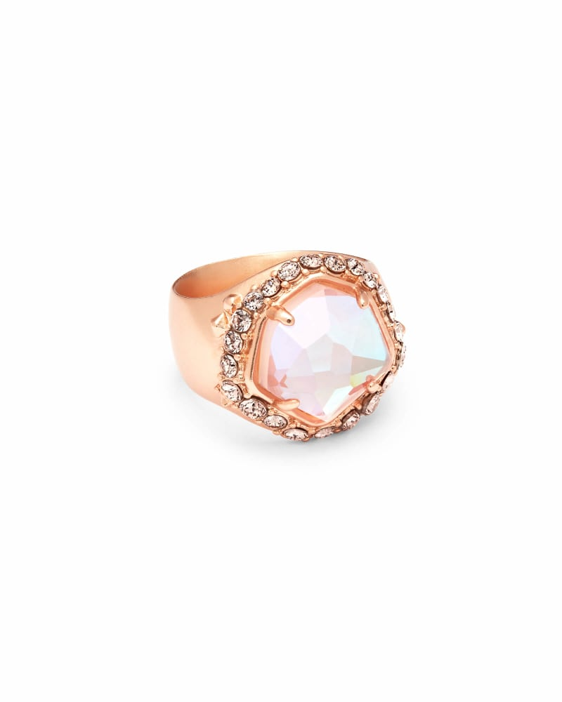 Schuyler Rose Gold Cocktail Ring