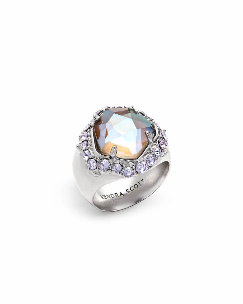 Schuyler Silver Cocktail Ring