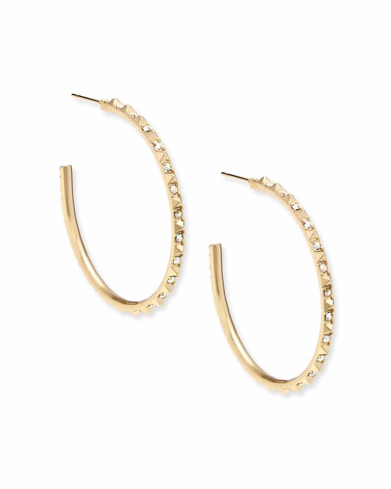 Veronica Hoop Earrings in Gold | Kendra Scott