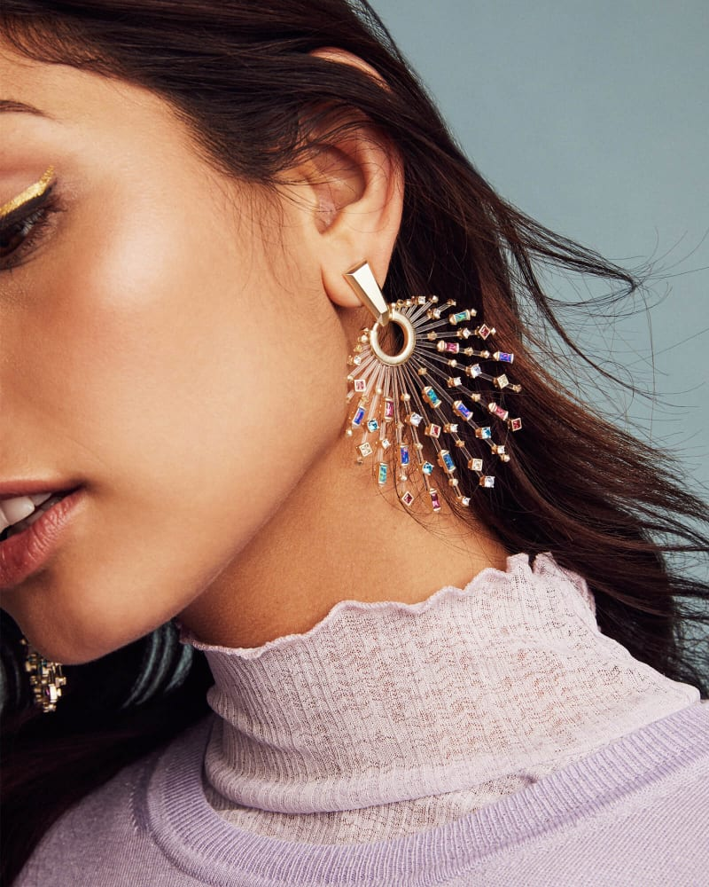 Fabia Statement Earrings