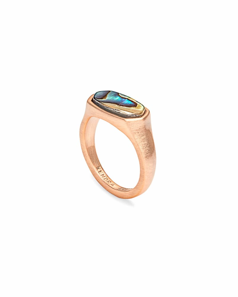 Mel Cocktail Ring in Rose Gold