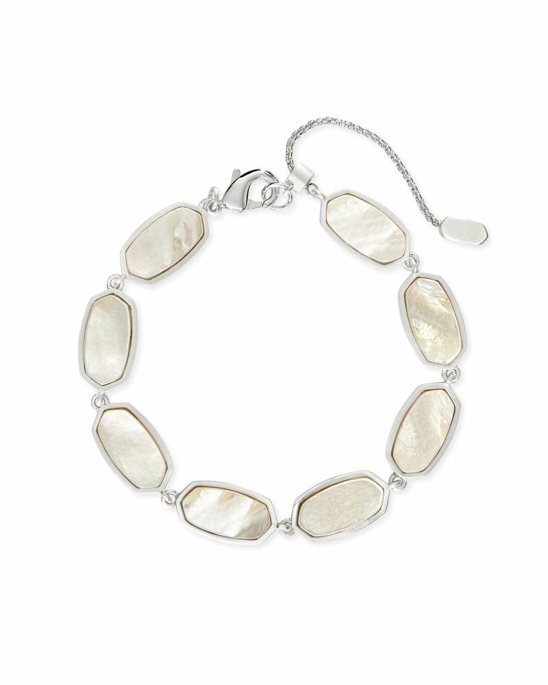 Millie Link Bracelet in Bright Silver
