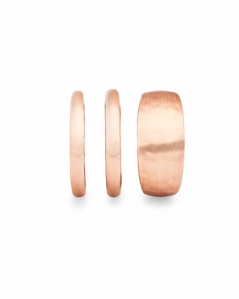 Terra Ring Set in Rose Gold