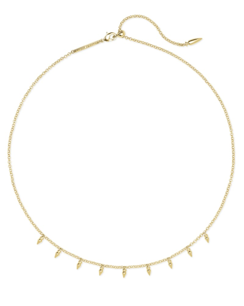 Addison Choker Necklace in Gold