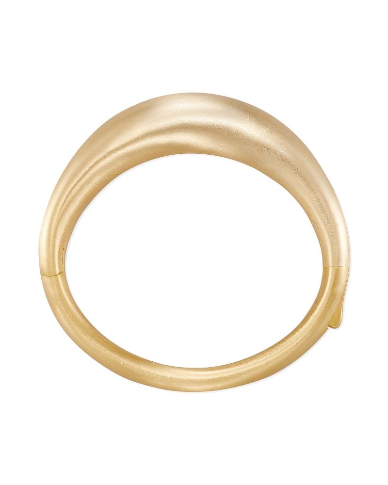 Kaia Bangle Bracelet in Gold