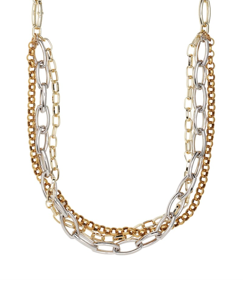 Ryder Chain Necklace in Mixed Metal