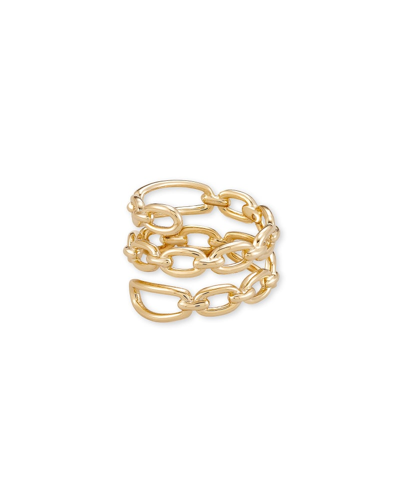 Ryder Wrap Ring in Gold | Kendra Scott