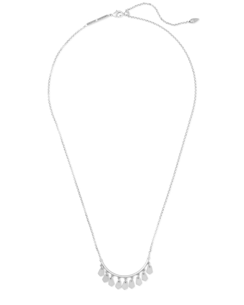 Sydney Pendant Necklace in Silver