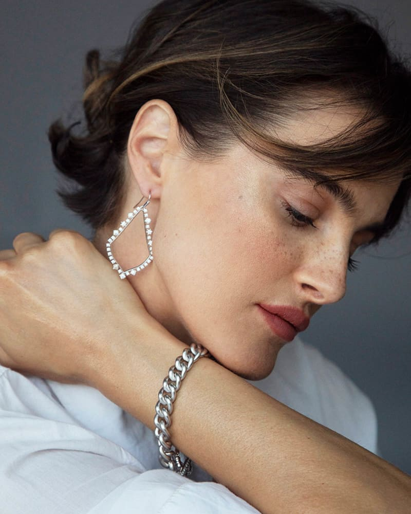 Whitley Chain Bracelet in Silver