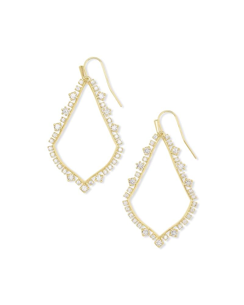 Sophee Crystal Drop Earrings in Gold | Kendra Scott