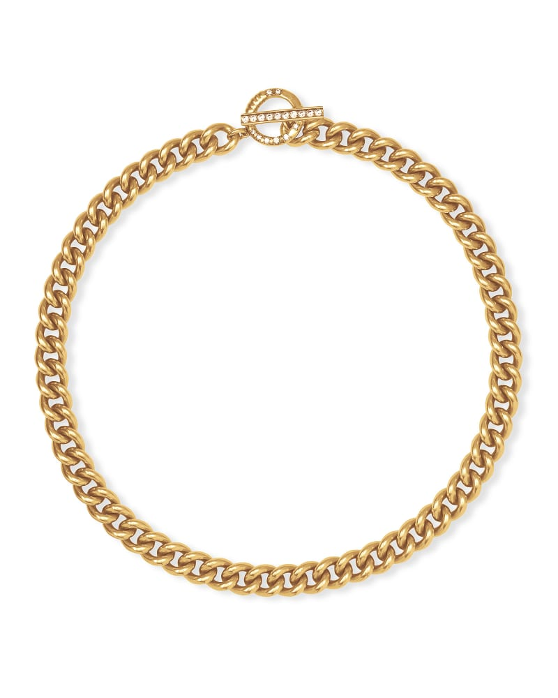 Whitley Chain Necklace in Vintage Gold | Kendra Scott