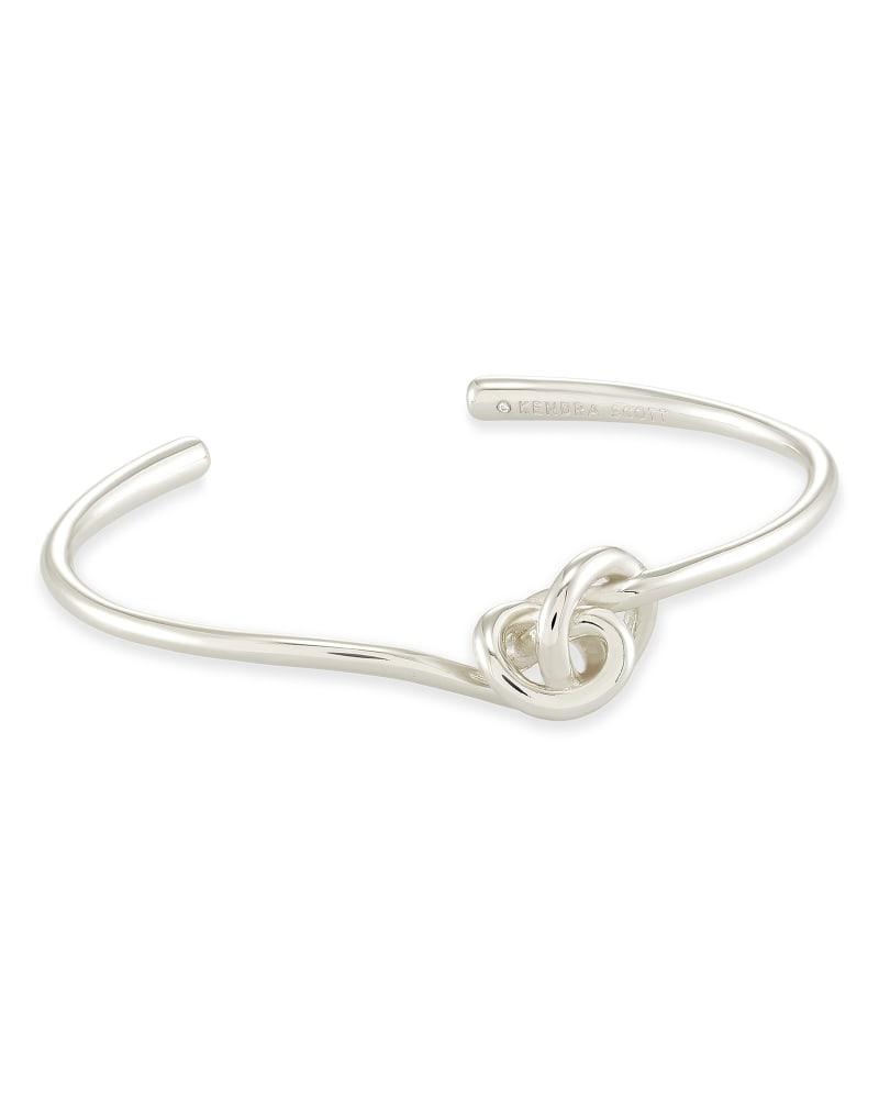 Presleigh Cuff Bracelet in Bright Silver