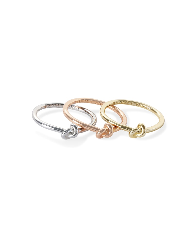 Presleigh Ring Set In Mixed Metal